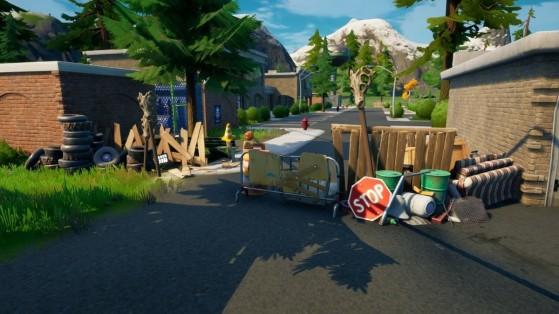 Fortnite: Las barricadas siguen levantándose por el mapa. ¿Qué peligro se acerca a la temporada 6?