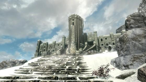 Skyrim: Bethesda te estaba mintiendo, no había 7000 pasos en el camino al Alto Hrothgar