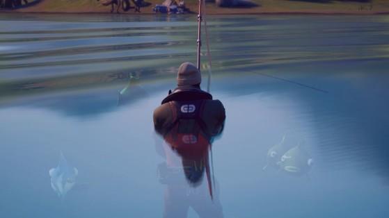 Fortnite: Un equipo de la FNCS pasa a la ronda 2 sin hacer nada más que pescar y curarse