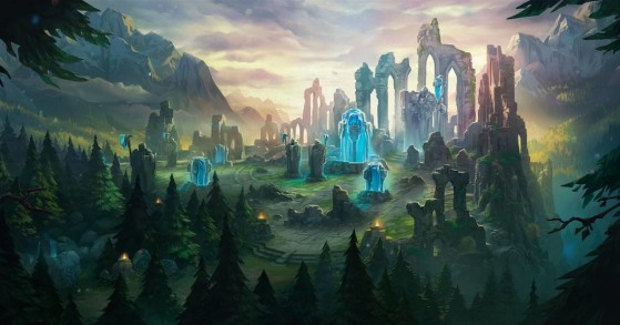 El macrogame hace referencia a las grandes estrategias que implican a todo el equipo - League of Legends