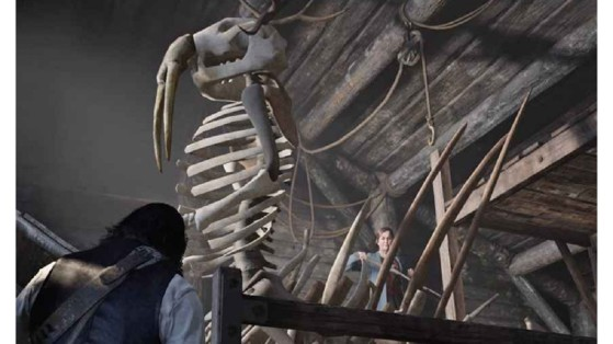 Guía Red Dead Redemption 2: Posición de los huesos de los dinosaurios