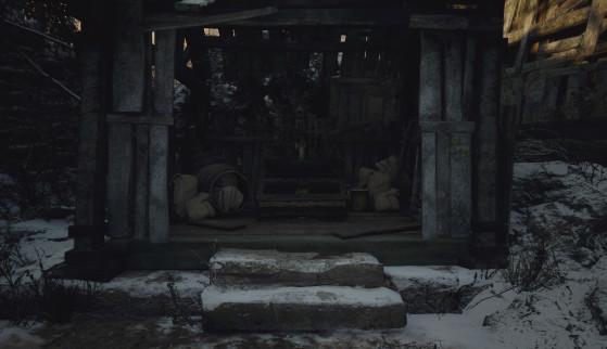 Resident Evil Village: Cómo completar el laberinto de Moreau, posición de la bola