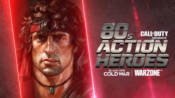 Warzone Cold War: Cómo conseguir recompensas gratis en el evento Héroes de Acción de los 80