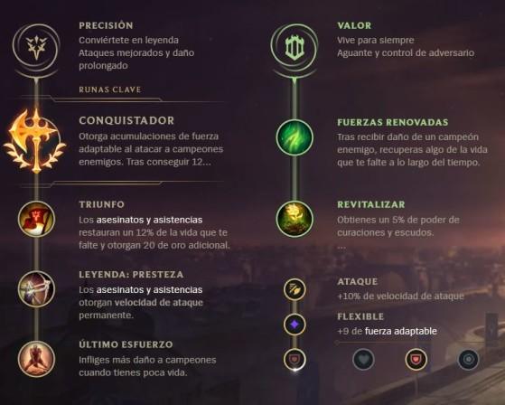 Precisión + Valor - League of Legends