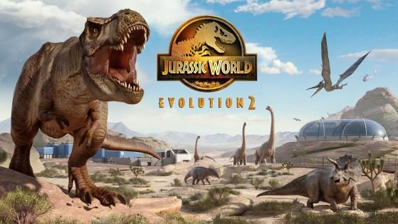 Jurassic World Evolution 2: así son las interacciones entre dinosaurios y entornos