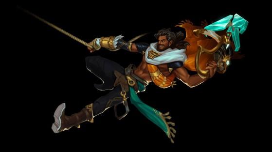 Akshan estará disponible en Wild Rift muy pronto - Wild Rift
