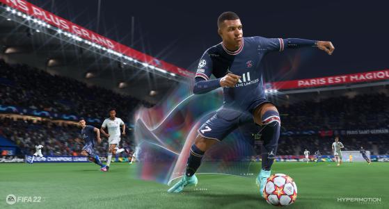 FIFA 22 y su sprint explosivo ¿El regate que va a