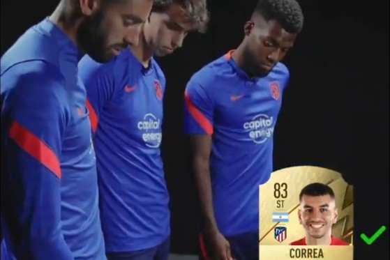 FIFA 22: Media de los jugadores del Atlético de Madrid, con un Marcos Llorente desatado