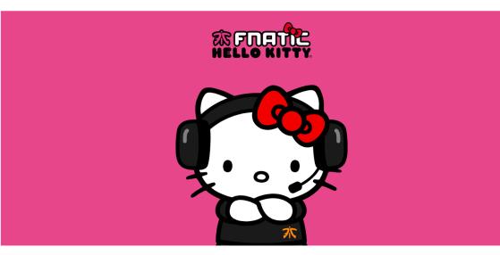 Hello Kitty entra en los esports de la mano de FNATIC