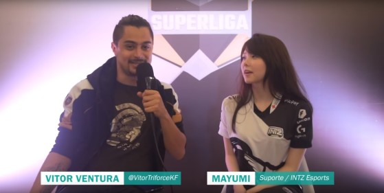 LoL: Mayumi, jugadora brasileña, recibe ataques machistas de un exjugador profesional