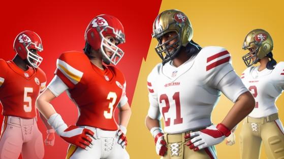 Fortnite: La NFL está de vuelta con skins y un torneo de Dúos benéfico