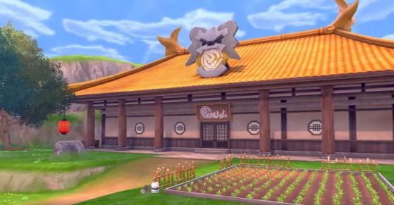 El dojo solitario de la isla de la armadura - Pokémon Espada y Escudo