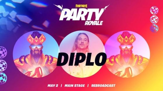 Fortnite: Major Lazer y Diplo en concierto en Fiesta Magistral, fecha y hora