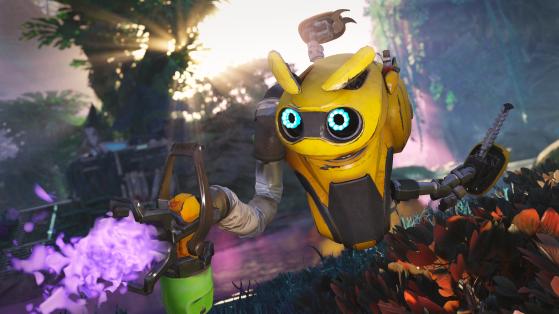 Bugg, el robot botánico - Crucible