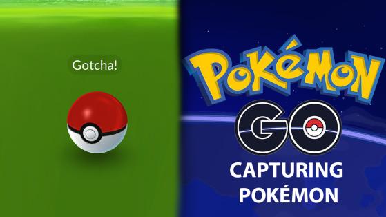 Capturar pokémon en Pokémon GO