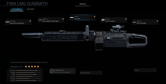 Modern Warfare Warzone: Cómo desbloquear la Finn, la nueva ametralladora ligera (LMG), Temporada 5