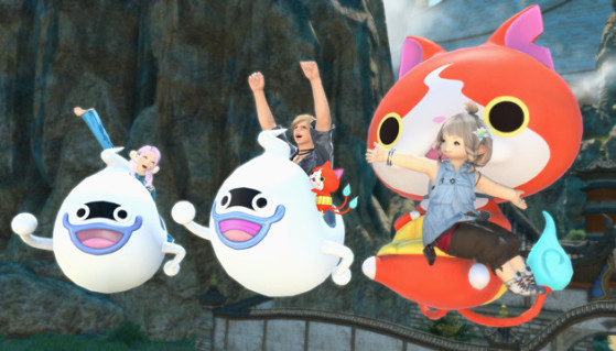 Monturas Yo-Kai Watch: Whisper-go, Whisper A-go-go, y Jibanyan Couch - Millenium