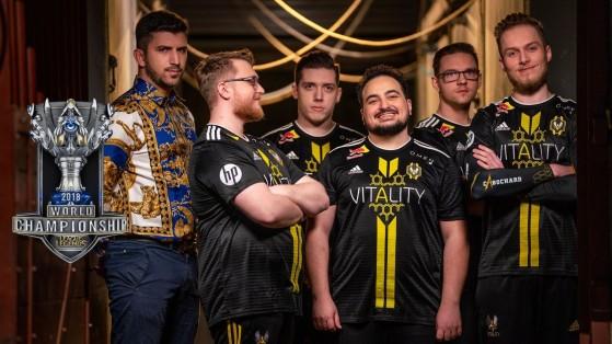 YamatoCannon, Jactroll, Attila, Jizuke, Kikis y Cabochard en Worlds 2018. - League of Legends