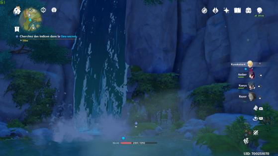 ¡La famosa cascada! - Genshin Impact