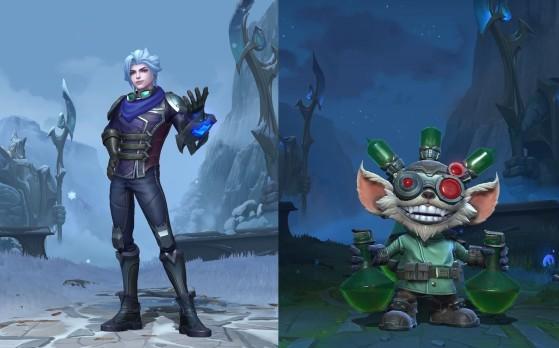 LoL: Riot deslumbra con unas nuevas skins de Wild Rift que dejan en ridículo a League of Legends