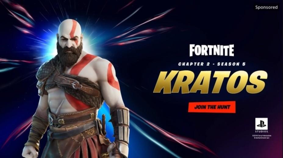 Fortnite: ¡Kratos, de God of War, va a estar en el juego de forma oficial  esta temporada 5! - Millenium
