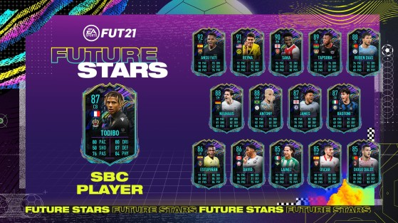 FIFA 21: Todibo Future Stars en FUT 21, ¿merece la pena el SBC del jugador del Niza?