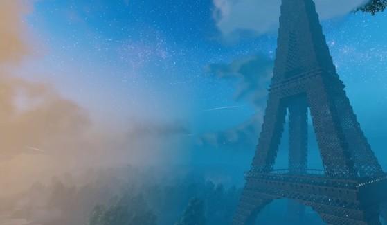 Valheim: La mayor locura jamás creada en el juego es esta Torre Eiffel a tamaño real, que debes ver