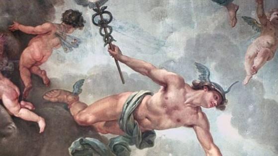 Hermes con sus características sandalias aladas. - League of Legends