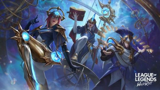 Stargazer es la nueva línea cosmética de Wild Rift - League of Legends