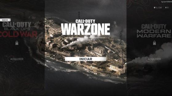 Warzone: Cómo jugar partidas privadas en Isla Renacer