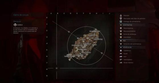 Mapa de Isla Renacer - Call of Duty Warzone