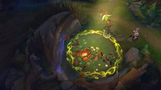 Ivern puede sacarle partido a la nueva mecánica de la jungla cuando quiera - League of Legends