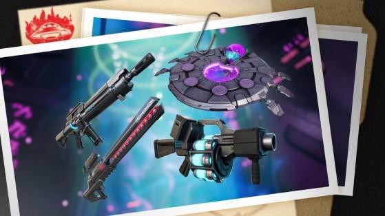 Fortnite temporada 7: Nuevas armas alienígenas OI, estadísticas y características