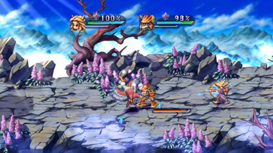 Combates contra multitud de jefes y enemigos - Millenium