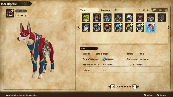 Palamute es una de las mejores opciones para explorar - Monster Hunter Stories 2: Wings of Ruin