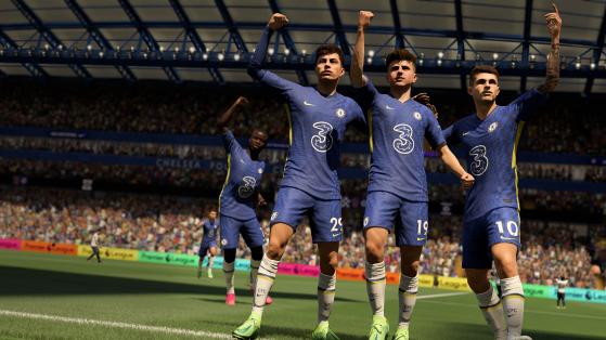 FIFA 22: Partido completo de Ultimate Team con dos de los mejores jugadores del mundo