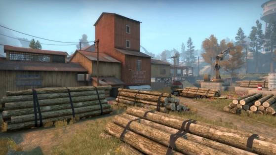 County es uno de los cinco mapas nuevos que llegan a CS:GO con Operation Riptide. - Counter Strike : Global Offensive