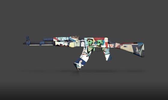 El rifle AK-47 tiene un nuevo aspecto en Operation Riptide. - Counter Strike : Global Offensive