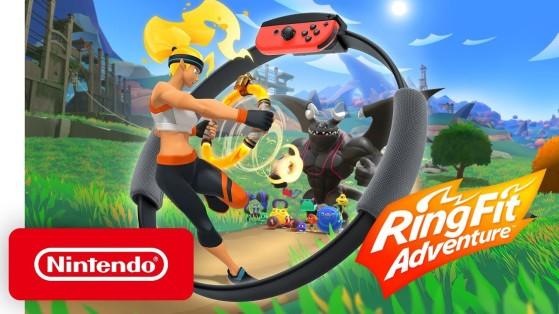 Ring Fit Adventures, el juego de fitness para Nintendo Switch que tu tía no va a jugar