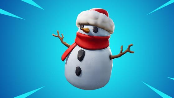 Fortnite: Muñeco de nieve, nueva arma