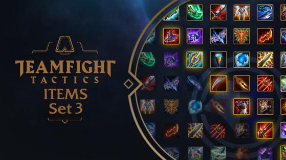 TFT Set 3: Objetos y Builds de Teamfight Tactics