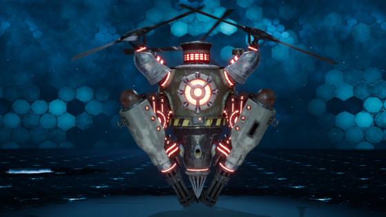 Final Fantasy VII Remake, combate contra Helimetralleta