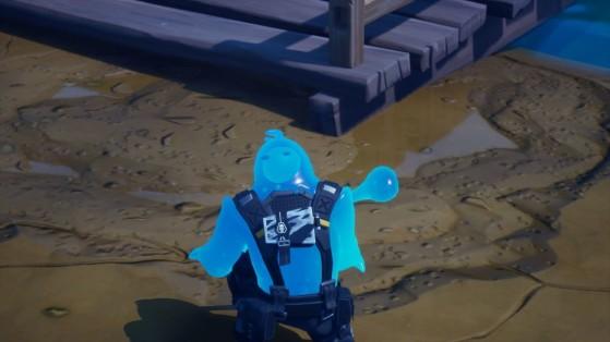 Fortnite: encuentran charcos, ¿Inundación del mapa de la temporada 2?