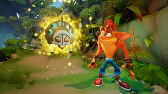 Crash Bandicoot 4: It's About Time le dice