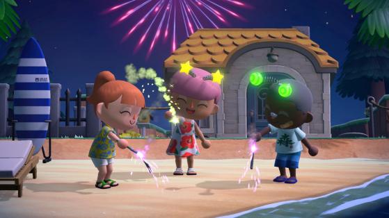 Animal Crossing New Horizons: fuegos artificiales, la Tómbola de Ladino, regalos y más en agosto