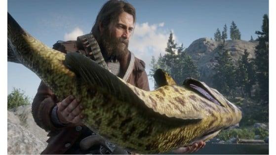 Guía Red Dead Redemption 2: Lista y posición de los peces legendarios