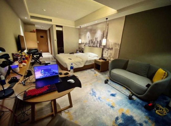 Un ejemplo de las habitaciones para jugadores de Worlds. - Millenium