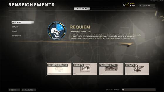 Black Ops Cold War: Dónde encontrar todas las informaciones de Requiem del modo Zombis, guía