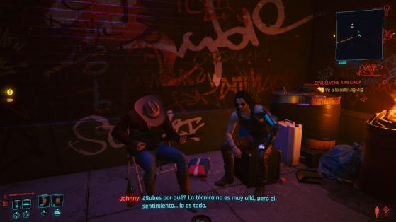 Lo que daría Johnny por coger una guitarra. - Cyberpunk 2077