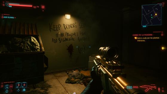 Hasta la basura está trabajada. - Cyberpunk 2077
